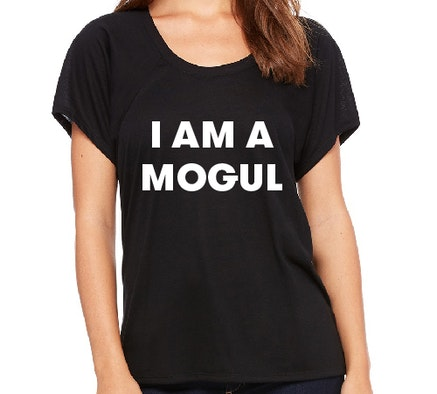 I AM A MOGUL Black Shirt