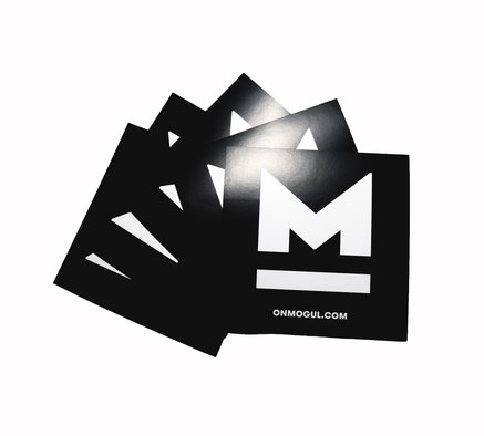 M Black Sticker