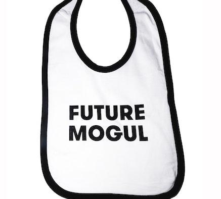 FUTURE MOGUL Baby Bib