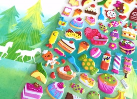 party food buffet food sticker gourmet bear picnic dessert party cake party drink puffy sticker kids food party recipes cooking theme decor
