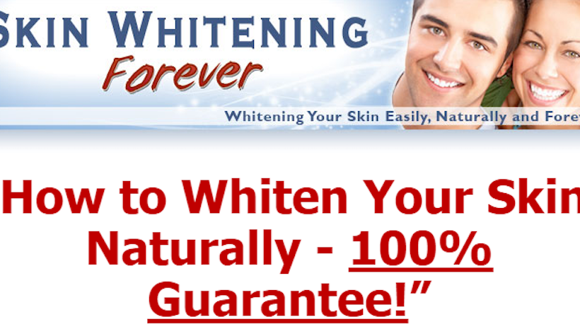Skin Whitening Forever -What is It? [Reviews 2017]