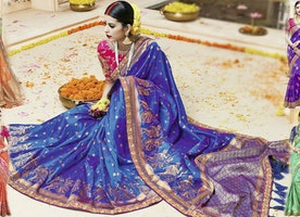 Designer Sarees: Indian Fancy & Modern Sarees New Designs Latest Collection Online With Best Price
