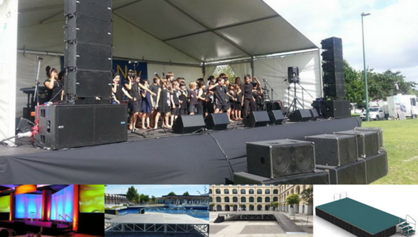 Portable Staging Is The Best Option For Your Special Events