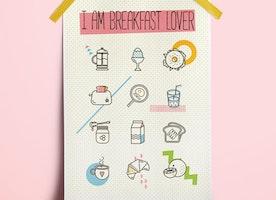 Breakfast Lover Print