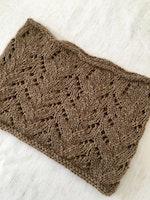 Joie de Weave--Pretty Lacey Knit Cowl