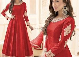 Mind-Blowing New Anarkali Dress With Beautiful Design Online Uk