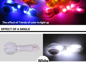 LED Shoelaces by YSbelt.com