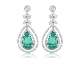 Mirage classic earring - 0.75 carat look