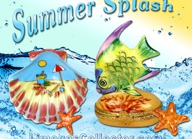 Splash Into Summer With French Limoges Boxes
