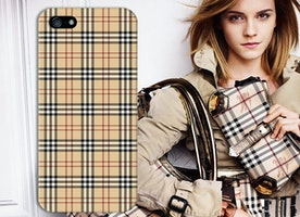 Burberry Inspired Signature Style Plaid Print Design Phone Case for iPhone and Samsung