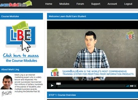 Learn Build Earn Review - A Product By Mark Ling