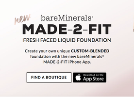 bareMinerals launches Made 2 Fit app for custom foundation to match every skin tone