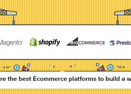 What are the best Ecommerce platforms to build a website?