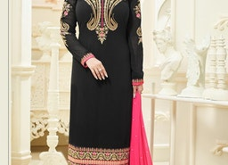 GRANDIOSE AYESHA TAKIA EMBROIDERED WORK STRAIGHT PAKISTANI SALWAR KAMEEZ