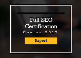 Full SEO Certification Course In Singapore