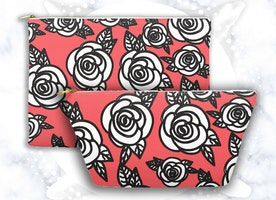 Roses Makeup Pouch