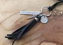 Wanderlust tassel necklace