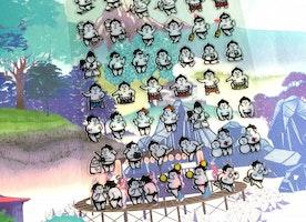 sumo sticker exercise sticker diary sticker diet planner sticker sport sticker calendar sticker japanese culture sticker mind wave seal gift