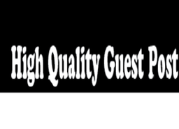 I can write and publish guest post on High DA sites