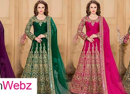 ASTONISHING LATEST NECK DESIGNS FOR ANARKALI SUITS