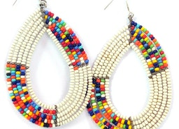 African Earrings, Masai Earrings