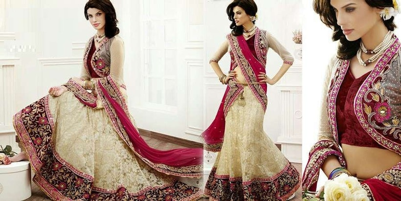 The Interesting Journey Of The Indian Lehenga Saree