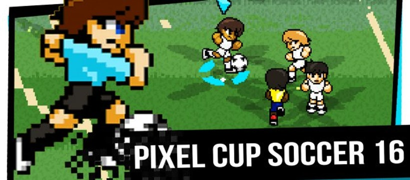 Download! Game Pixel Cup Soccer 16 is free on the App Store
