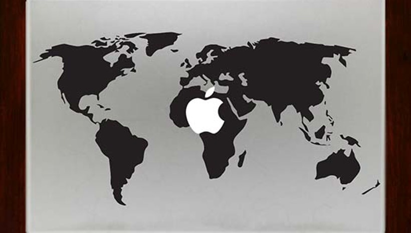 World map decal stickers for apple macbook pro air retina 13 inch 15 world map decal stickers for apple macbook pro air retina 13 inch 15 inch laptop decals gumiabroncs Images