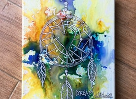 8x10 Dream Catcher canvas