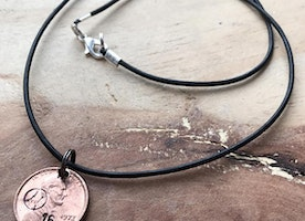 Lucky penny sports necklace