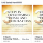 3 Steps in Overcoming Trials and Tribulations