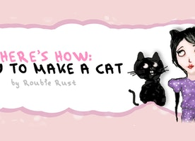 DIY: HOW TO MAKE A CAT