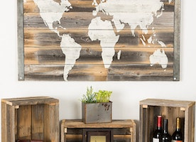 Nothing is better than beautiful reclaimed wood!!