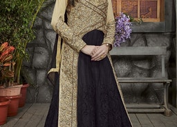 PHENOMENAL BEADS WORK TRENDY DESIGNER SALWAR KAMEEZ