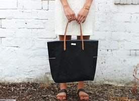 "The ""little"" black tote"