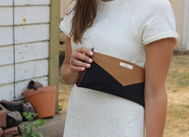 The perfect casual clutch