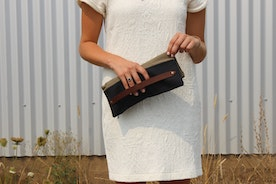 Fit as much or as little with this clutch