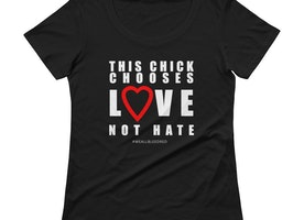 Choose Love T-Shirt by Bling Chicks