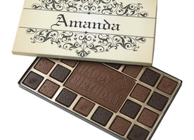 Gift Your Loved Ones A Chocolate Box with their Name!
