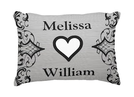 Cute pillow for the newlyweds
