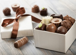 white chocolate covered oreo truffle