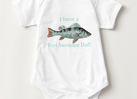 Reel Awesome Dad Fun New Fishing Father  gift