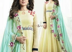 Encouraging Yellow Bollywood Actress Jennifer Widgets' Suit Online