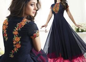 Incentivizing Bollywood Heroin Jennifer Winget In Indo Western Wear