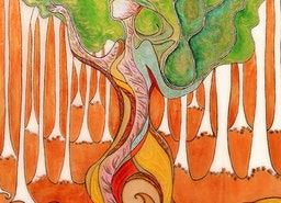 In the deepest roots (Woman tree)