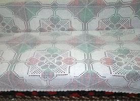 crochet bed spread cotton bed linen crochet sofa cover coverlet king size bed spread coverlet counterpane handmade rare pattern gift
