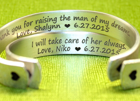 u Gifts | Custom Personalized Bracelet by Korena LovesMother of the Groom Gift | Mother of the Bride Gift | Mother in Law Gifts | Thank yo
