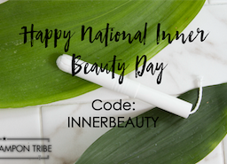 Enjoy this free gift from Tampon Tribe on National Inner Beauty Day