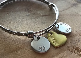 Custom name bangle