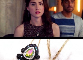 As seen on Stitchers Season 3 ep 10 , Worn by Allison Scagiliotti Camille